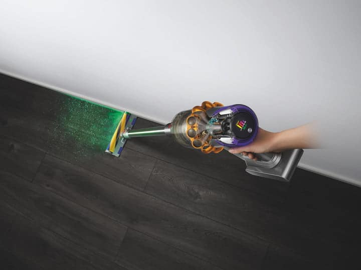 Dyson V15 Detect Vacuum Uses a Laser to Find Dust