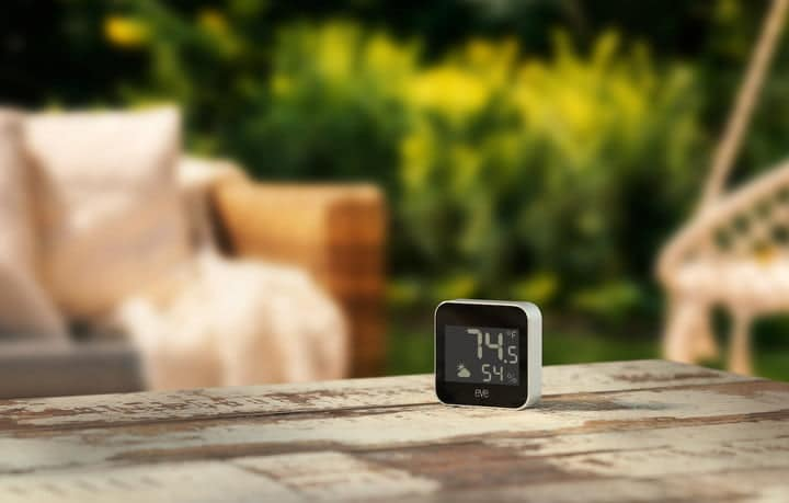 Eve Weather Tracks Your Home's Microclimate