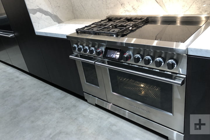 isher and Paykel Dual Fuel Range