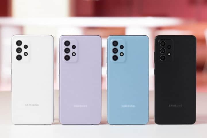 Galaxy A52 Colors