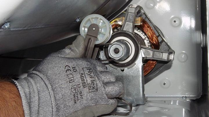 Idler pulley repair