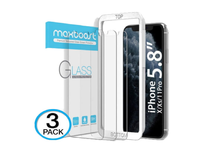 Maxboost Screen Protector for iPhone XS