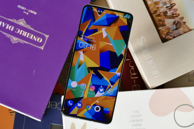 oneplus 9 pro review screen