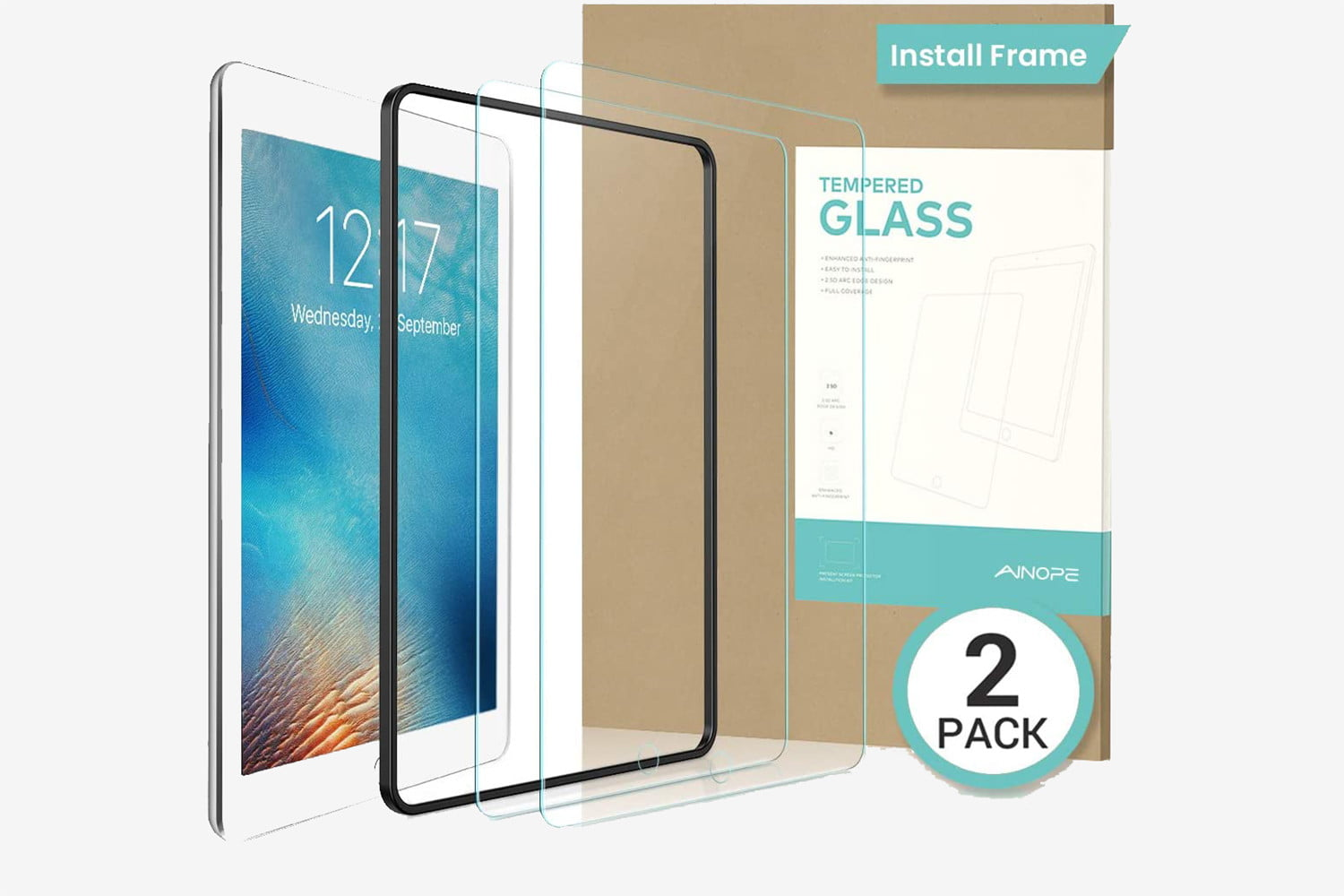 tempered glass frame