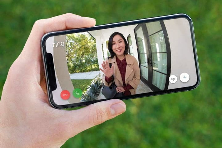 Ring Video Doorbell 3 on Ring mobile app