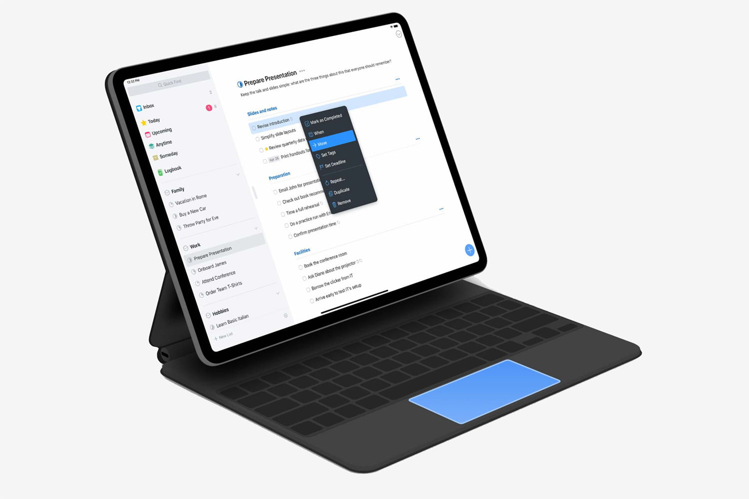 Things 3 for iPad Pro