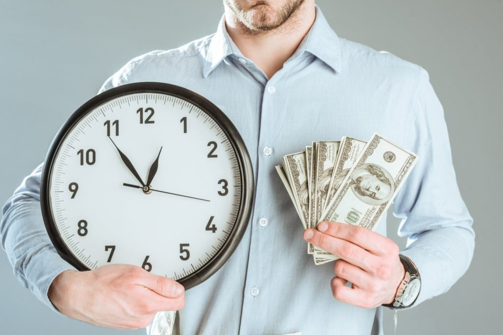How much an hour of your time is worth