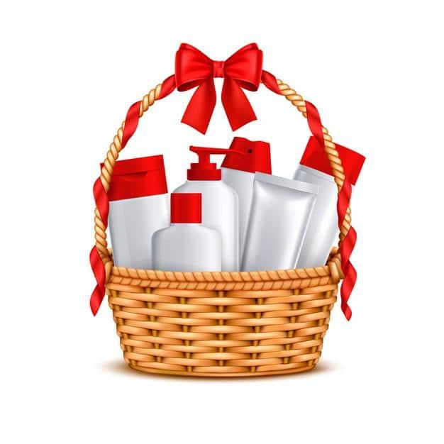 Basket Christmas Gifts