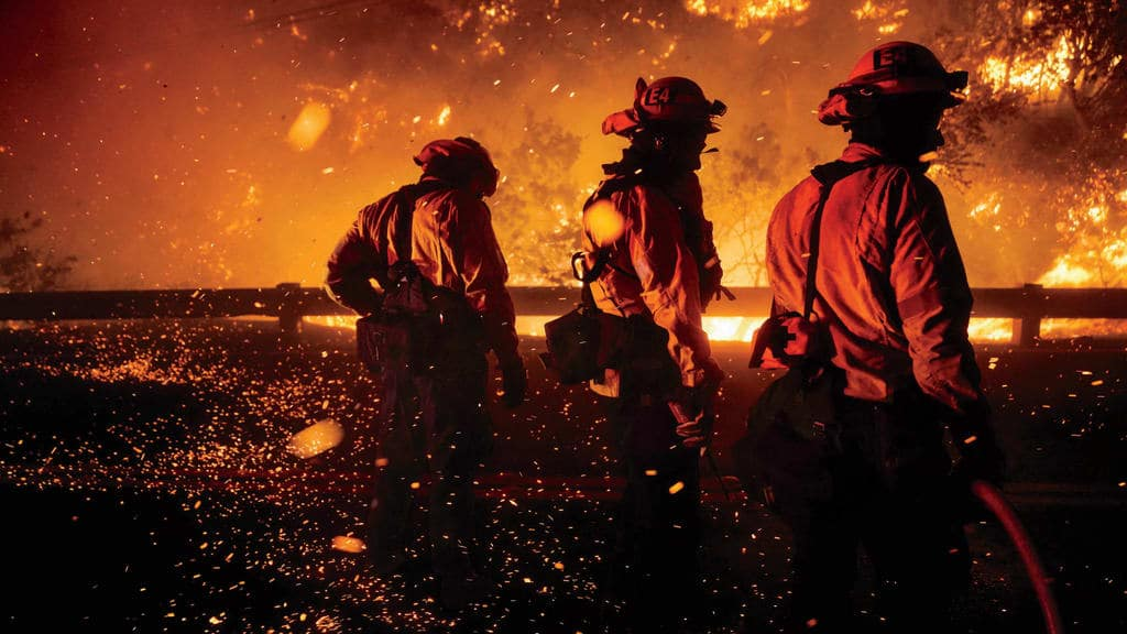 Raging Wildfire Problem