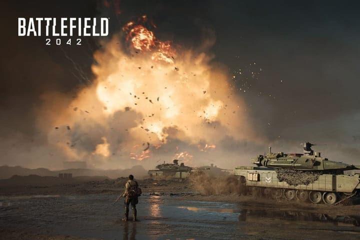 Battlefield 2042 Lone Soldier Explosion