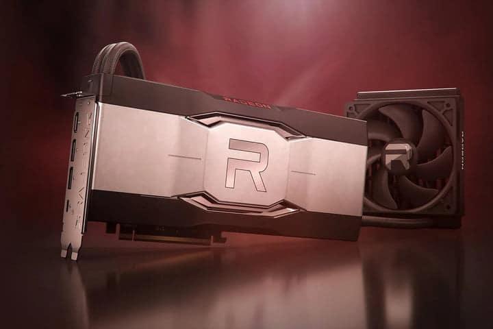 A AMD rx6900 GPU.