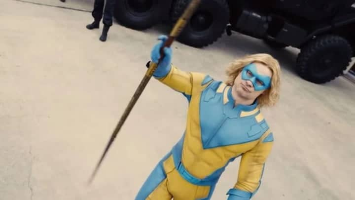 Flula Borg as Javelin in The Suicide Squad.