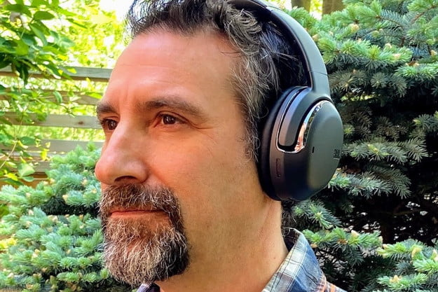 JBL Tour One wireless noise canceling headphones.