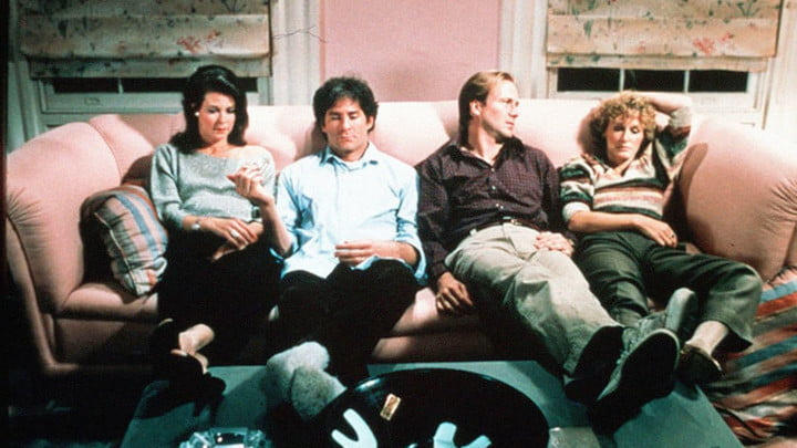 The cast of The Big Chill.