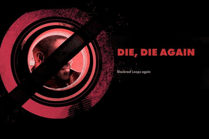 Death Screen from Deathloop.