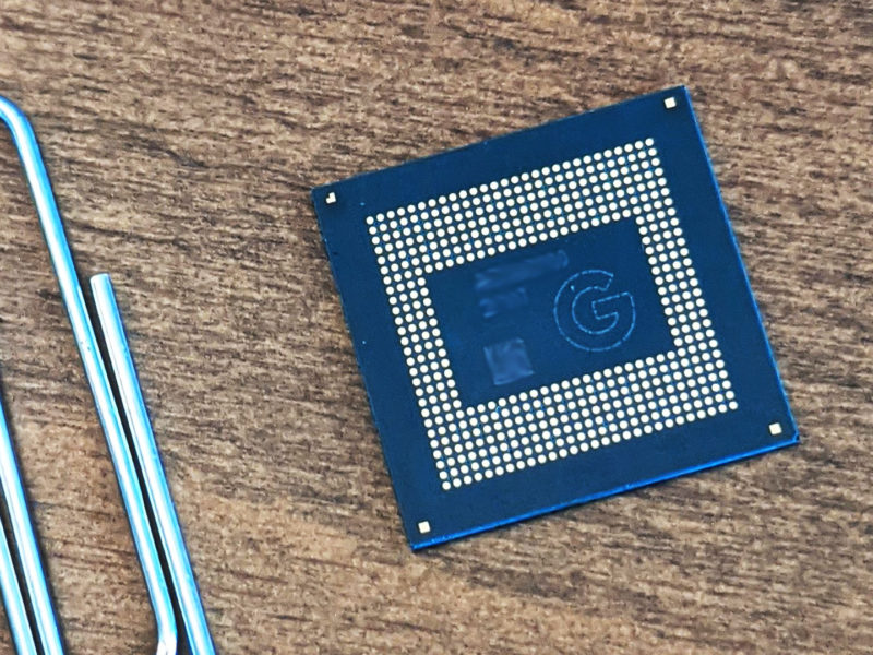 Google Tensor SoC chip