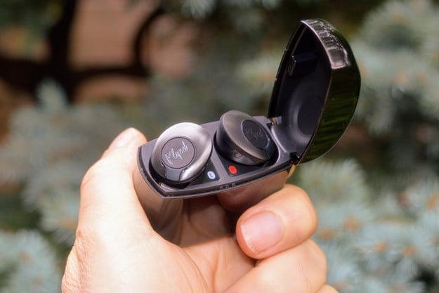 Klipsch T5 II ANC true wireless earbuds.