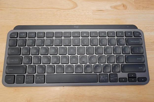 Logitech MX Keys Mini looks great in graphite.