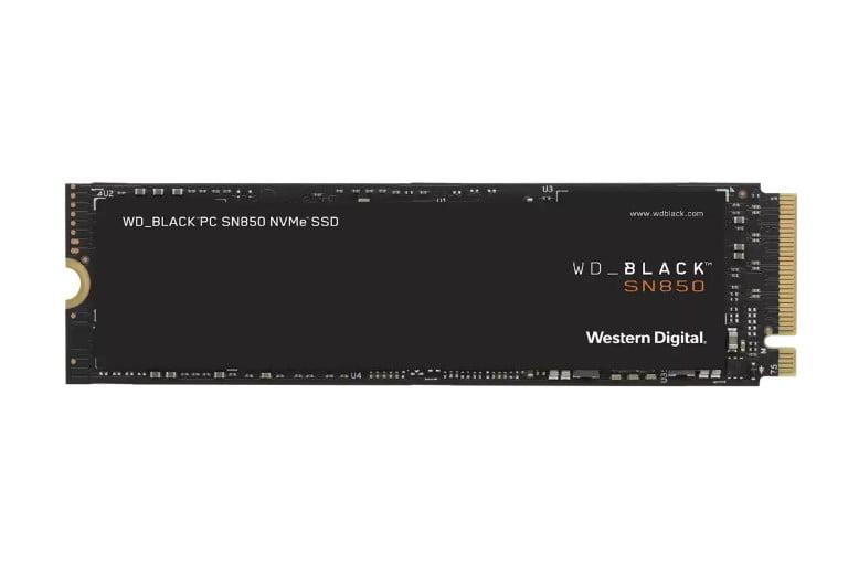 Western Digital's SN850 NVMe SSD PCIe Gen 4.